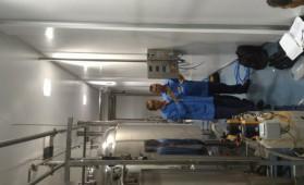 Instalação e configuração de indicador de pesagem