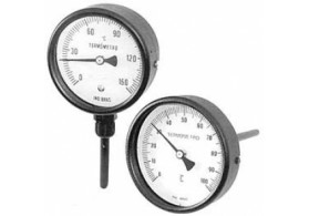 Termômetro bimetálico